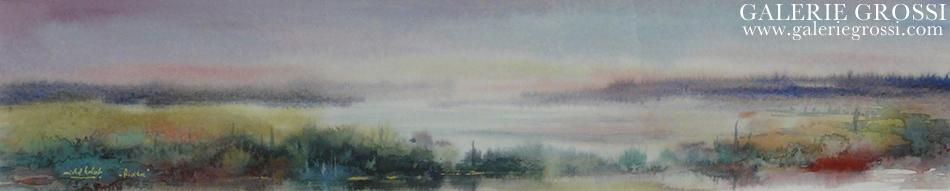 aquarelle 10 x 23 cm